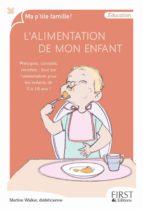 L'alimentation de mon enfant (ebook)