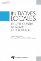 Initiatives locales et lutte contre la pauvreté et l'exclusion (ebook)