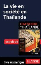 La vie en société en Thaïlande (ebook)
