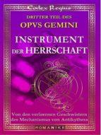 Instrument der Herrschaft (ebook)