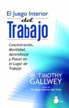 EL JUEGO INTERIOR DEL TRABAJO (ebook)