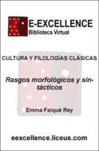 Rasgos morfológicos y sintácticos : rasgos socioculturales (ebook)