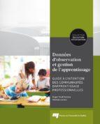 Données d'observation et gestion de l'apprentissage (ebook)