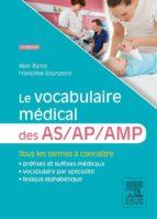 Le vocabulaire médical des AS/AP/AMP (ebook)