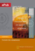 Formuler des compétences (Chapitre) (ebook)