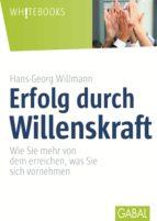 Erfolg durch Willenskraft (ebook)