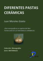 Diferentes pastas cerámicas (ebook)