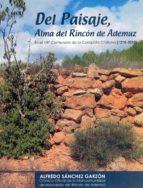 DEL PAISAJE, ALMA DEL RINCÓN DE ADEMUZ (I) (ebook)