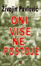 ONI VISE NE POSTOJE (ebook)