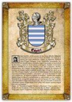 Apellido Espart / Origen, Historia y Heráldica de los linajes y apellidos españoles e hispanoamericanos
