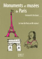 Le Petit Livre de - Monuments et musées de Paris (ebook)
