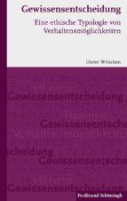Gewissensentscheidung (ebook)