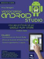 Videocorso Android Studio. Volume 2 (ebook)