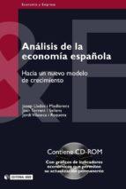 Análisis de la economía española (ebook)