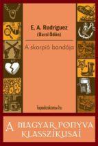 A skorpió bandája (ebook)