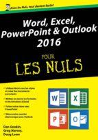 Word, Excel, PowerPoint et Outlook 2016 pour les Nuls mégapoche (ebook)