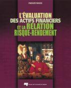 L'évaluation des actifs financiers et la relation risque-rendement (ebook)