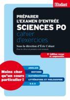 Préparer l'examen d'entrée sciences po - Cahier d'exercices Anglais (ebook)