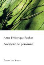 Accident de personne (ebook)