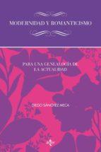Modernidad y romanticismo (ebook)
