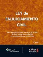 Ley de Enjuiciamiento Civil (ebook)