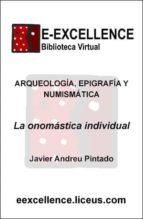 La onomástica individual (ebook)