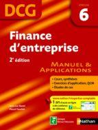 Finance d'entreprise - épreuve 6 - DCG manuel (ebook)