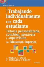 Trabajando individualmente con cada estudiante (ebook)