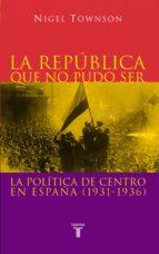 La República que no pudo ser (ebook)