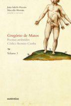 Gregório de Matos - Volume 3 (ebook)