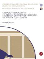 Situazioni Soggettive E Interesse Pubblico Nel Giudizio Incidentale Sulle Leggi (ebook)