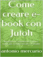Come creare e-book con Jutoh (ebook)