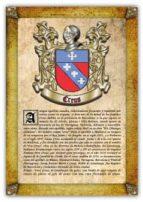 Apellido Creus / Origen, Historia y Heráldica de los linajes y apellidos españoles e hispanoamericanos