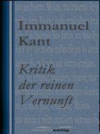 Kritik der reinen Vernunft (ebook)
