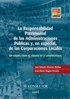 La responsabilidad patrimonial de las Administraciones Públicas y, en especial, de las Corporaciones Locales (ebook)