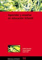 Aprender y enseñar en educación infantil (ebook)