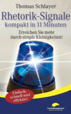 Rhetorik-Signale - kompakt in 11 Minuten (ebook)