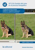 Gestión del color en el proceso fotográfico. ARGP0110