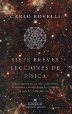Siete breves lecciones de física (ebook)