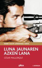 Luna jaunaren azken lana (ebook)