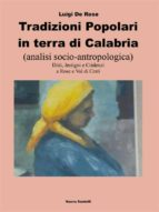 Tradizioni popolari in terra di Calabria (ebook)