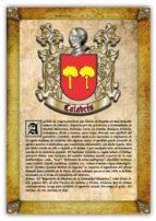 Apellido Calabrés / Origen, Historia y Heráldica de los linajes y apellidos españoles e hispanoamericanos