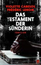 Das Testament der Sünderin