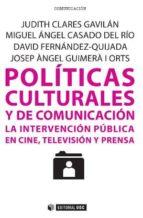 Políticas culturales y de comunicación (ebook)