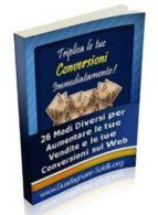 Triplica le tue conversioni immediatamente! (ebook)