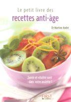 Le Petit Livre de - Recettes anti-âge (ebook)