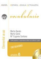 Vocabulario A1-A2  Nivel Elemental (ebook)