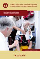 Valoraci�n inicial del paciente en urgencias o emergencias sanitarias. SANT0208