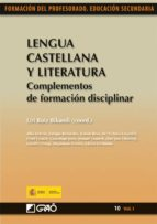 Lengua Castellana y Literatura. Complementos de formación disciplinar (ebook)