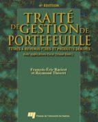 Traité de gestion de portefeuille, 4e édition (ebook)
